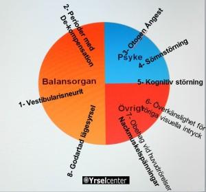 Många orsaker till yrsel efter vestibularisneurit_Yrselcenter