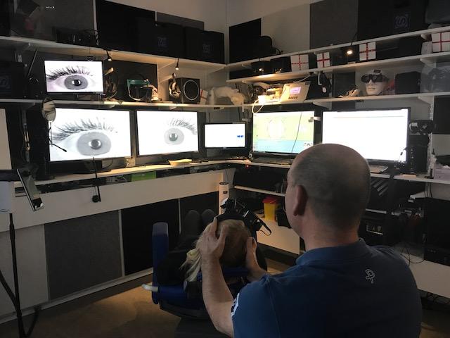 Videonystagmoskopi