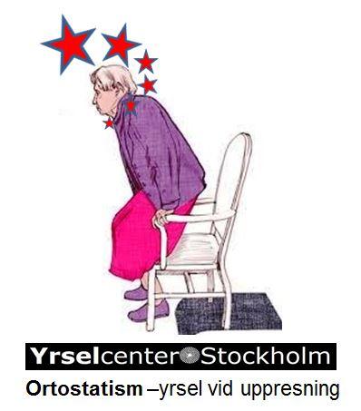 Ortostatism - yrsel vid uppresning Yrselcenter