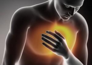 stickningar i hjärtat