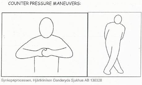 Råd vid plötsligt blodtrycksfall